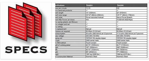 Specifications 1